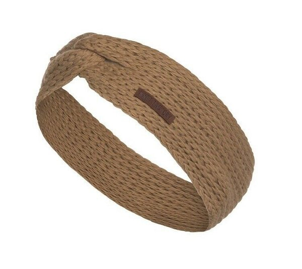 Knit Factory Stirnband  New Camel